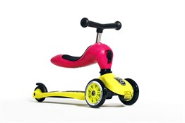 Highwaykick 1 Scooter Lime-Pembe